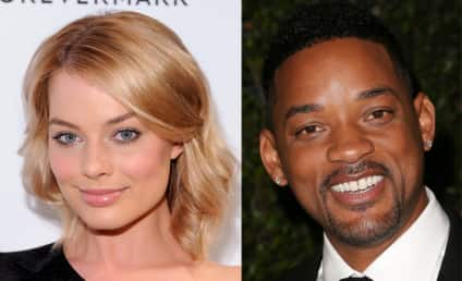 Will Smith: Flirting in a Photo Booth with Margot Robbie?!?