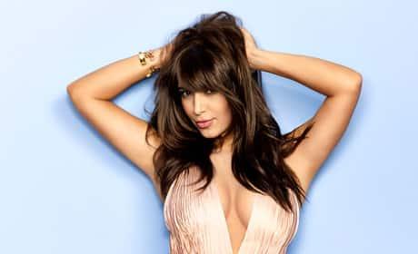 Kim Kardashian Cosmo Picture