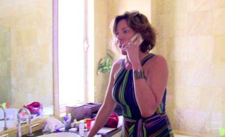 LuAnn de Lesseps Confronts Fiancè for Cheating!