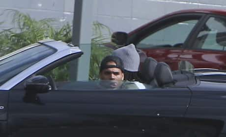 Karrueche and Chris Brown
