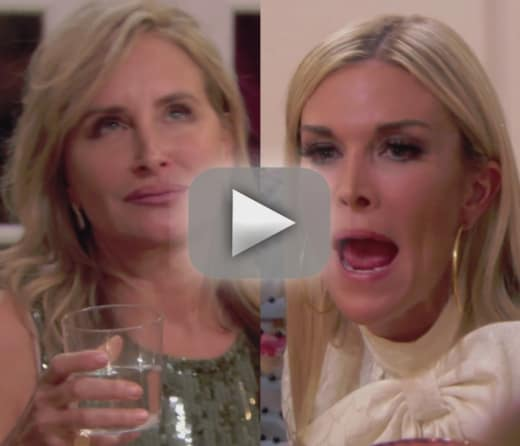 Sonja morgan and tinsley mortimer watch their huge fight