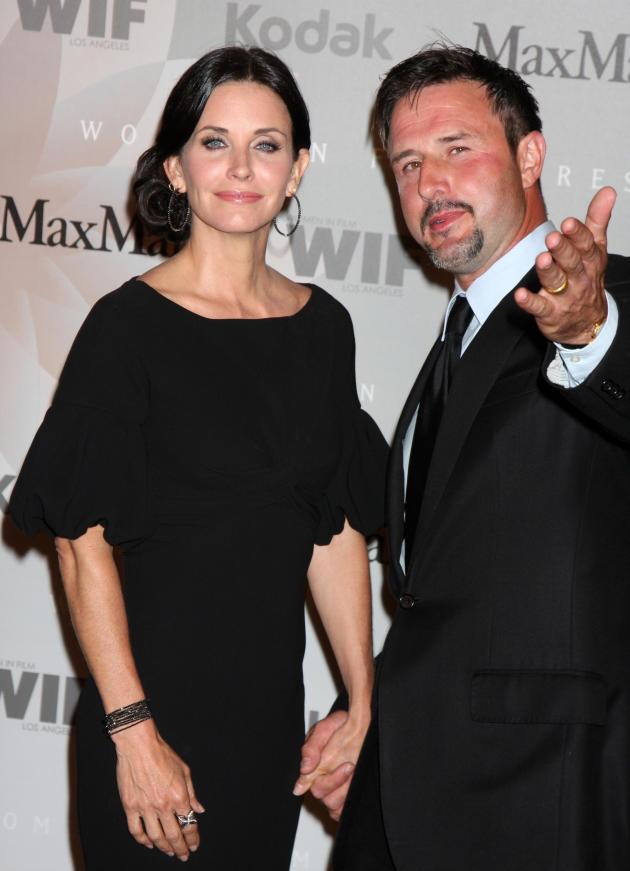 Courteney Cox and David Arquette Pic