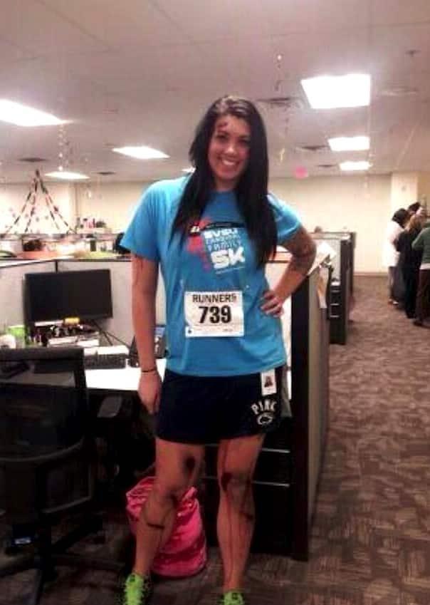 Boston Marathon Victim Costume