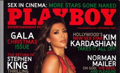 Kim Kardashian Playboy Issue