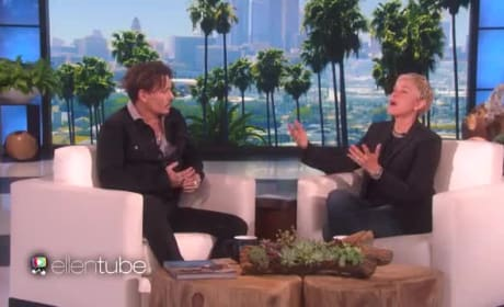 Johnny Depp Talks Trump