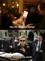 What's Up Hillary?