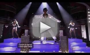 Corbin Bleu on Dancing With the Stars Week 9