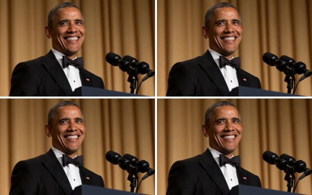 Obama at the white house correspondents dinner