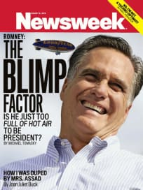 Mitt Romney, Blimp