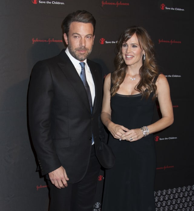 Ben affleck jennifer garner red carpet pic