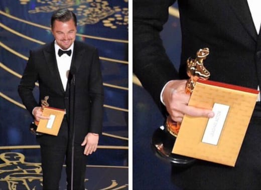 Leonardo DiCaprio Middle Finger