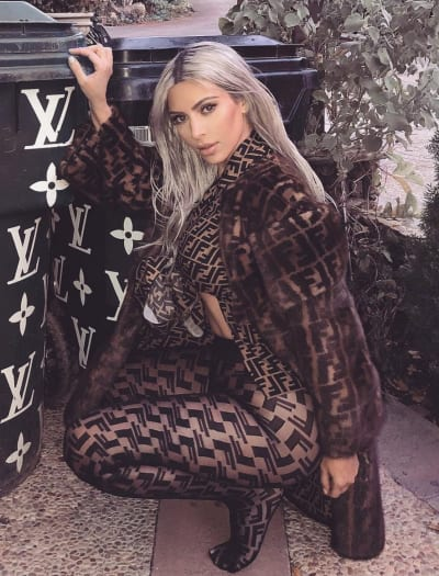 Kim Kardashian in This Outfit