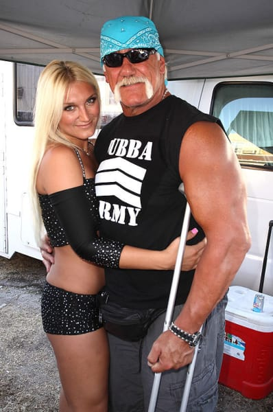 Hulk and Brooke Photo