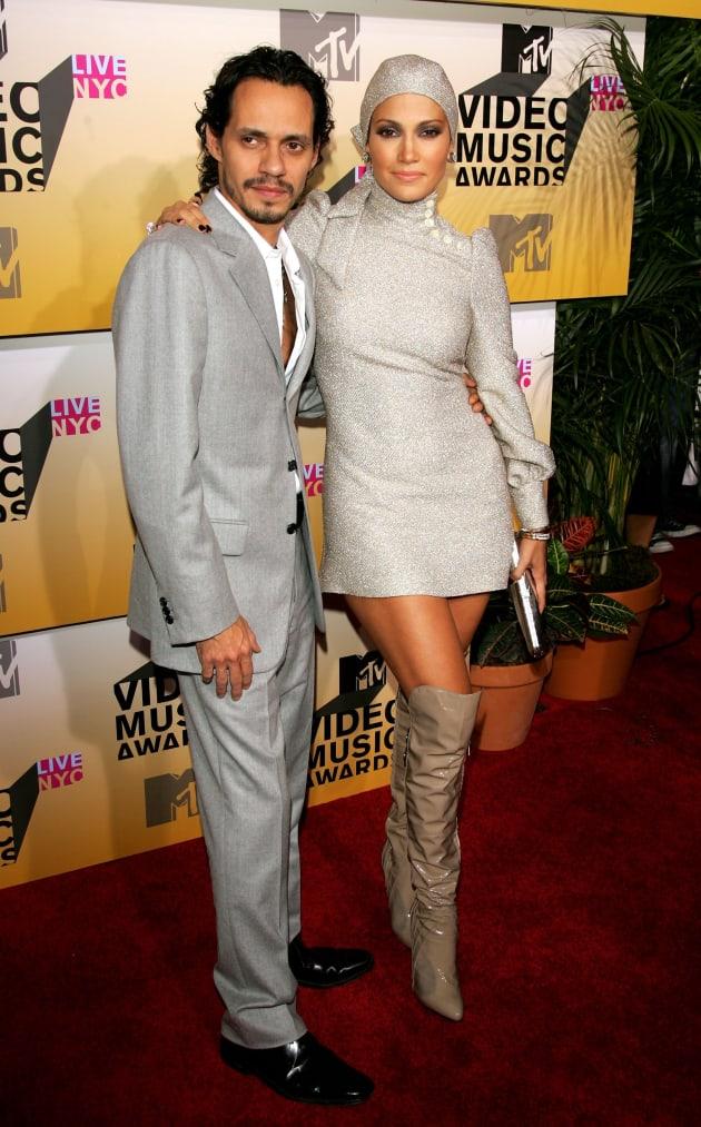 Marc Anthony Jennifer Lopez 2006 VMAs