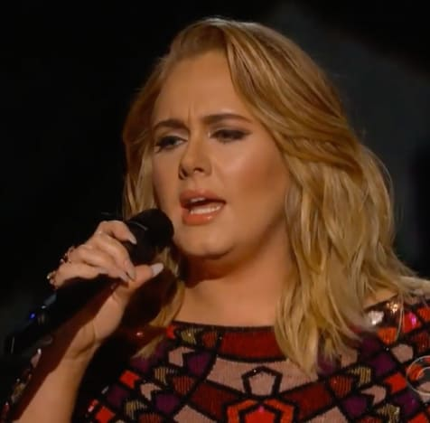 Adele Grammys Pic