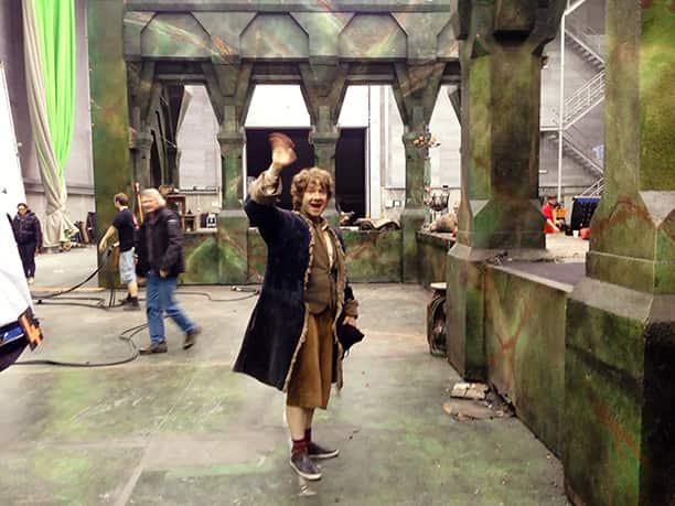 Martin Freeman as Bilbo Baggins photo