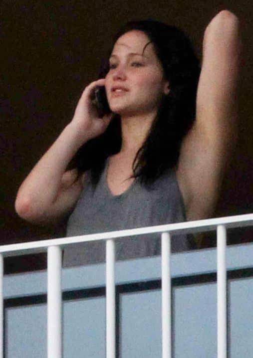 Jennifer Lawrence With No Makeup