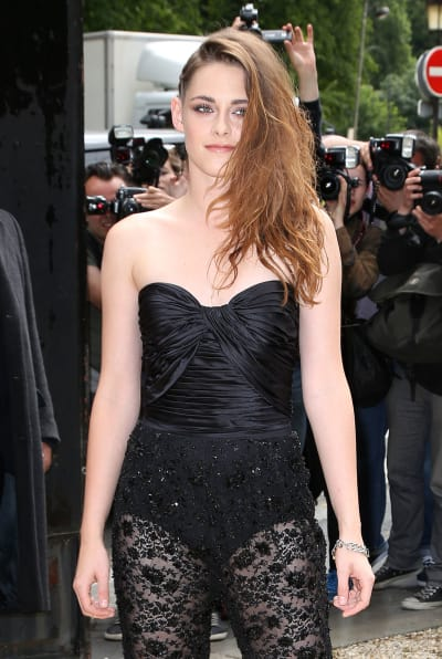 Kristen Stewart Sheer Outfit