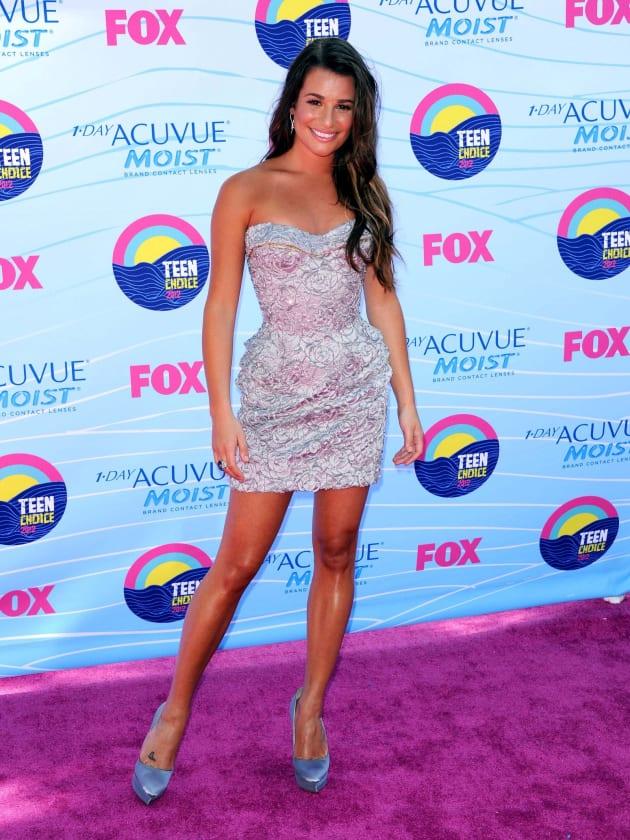 Lea Michele at Teen Choice Awards