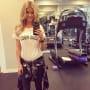 Christina El Moussa at the Gym