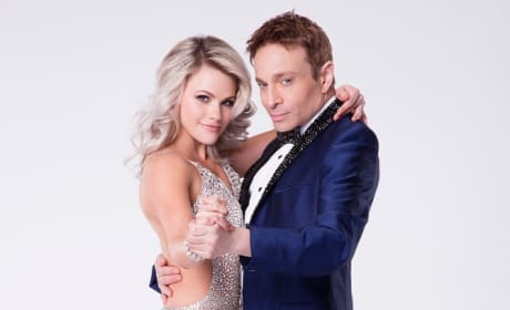 Chris Kattan and Witney Carson