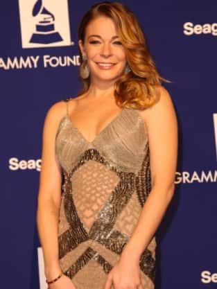 LeAnn Grammys Dress