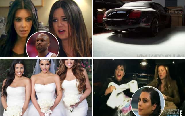 9 krazy kardashian klashes lamar sucks