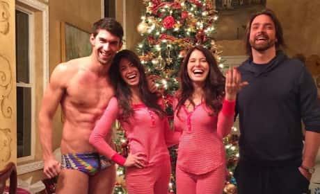 Nicole Johnson: Michael Phelps Speedo Photo