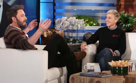 Ben Affleck and Ellen