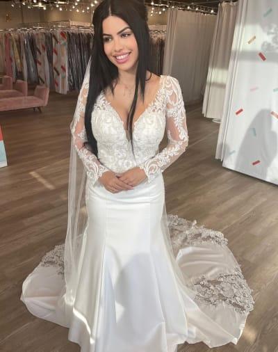 Larissa Lima Dons a Wedding Dress