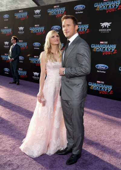 Anna Faris and Chris Pratt Picture