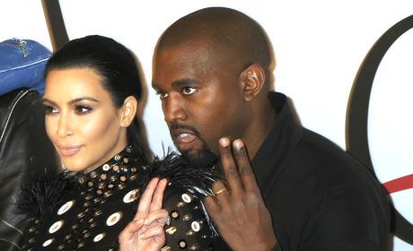 2 for Kim Kardashian and Kanye West