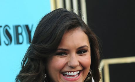 Nina Dobrev at Great Gatsby Premiere