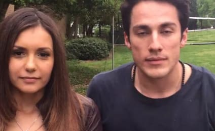 Nina Dobrev and Michael Trevino Get Silly, Say Goodbye to The Vampire Diaries