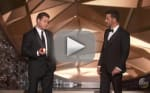 Matt Damon Drops By Emmys, Hilariously Taunts Jimmy Kimmel