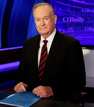 Bill O'Reilly at His Desk