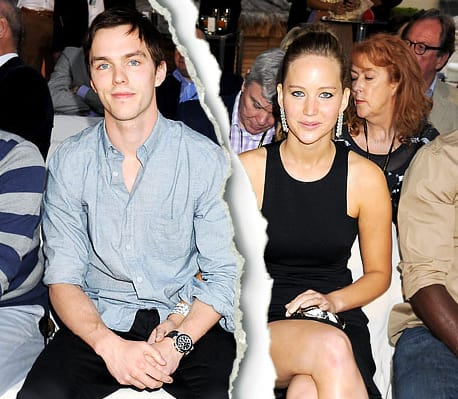 Jennifer Lawrence and Nicholas Hoult Picture