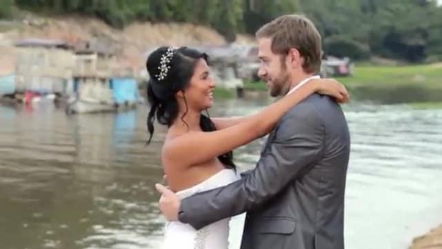 Karine and paul wedding photo