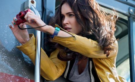 Megan Fox in TMNT