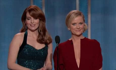 Tina Fey and Amy Poehler Golden Globe Highlights