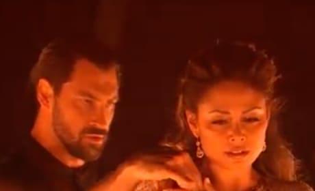 Maks Chmerkovskiy and Vanessa Lachey Dance the Rumba