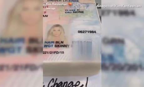Khloe Kardashian Changes Name, Celebrates in Delicious Fashion
