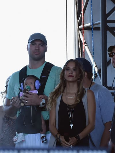 Jana Kramer Mike Caussin Infant Daughter LakeShake Country Music Festival