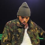 Chris Brown Grabs Crotch