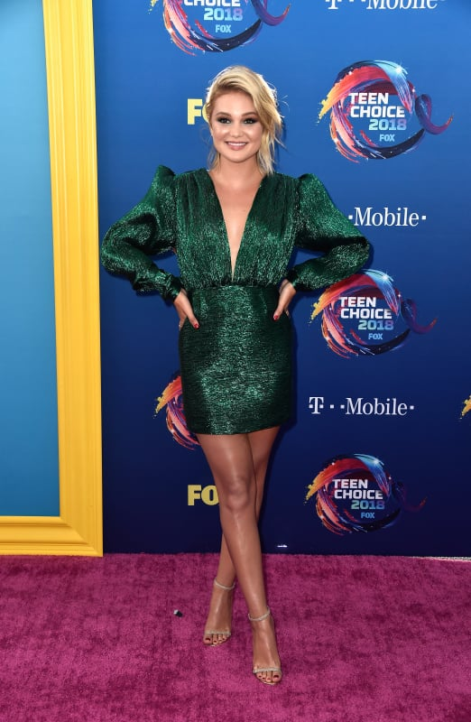 Olivia Holt at the TCAs
