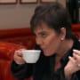 Kris jenner smugly sips her tea