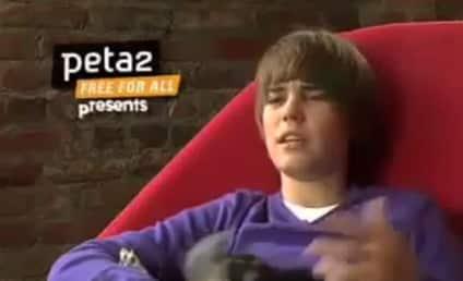 Justin Bieber Encourages Animal Adoption