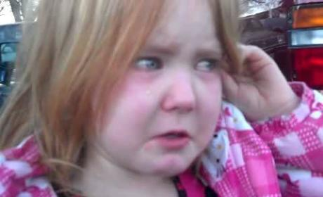 Four-Year-Old Cries Over Election
