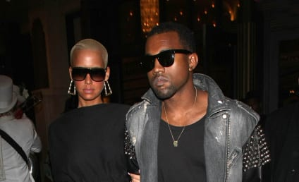 Amber Rose Bares Skin, Dates Kanye West