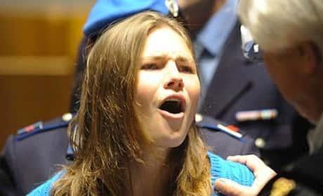 Amanda Knox O-Face